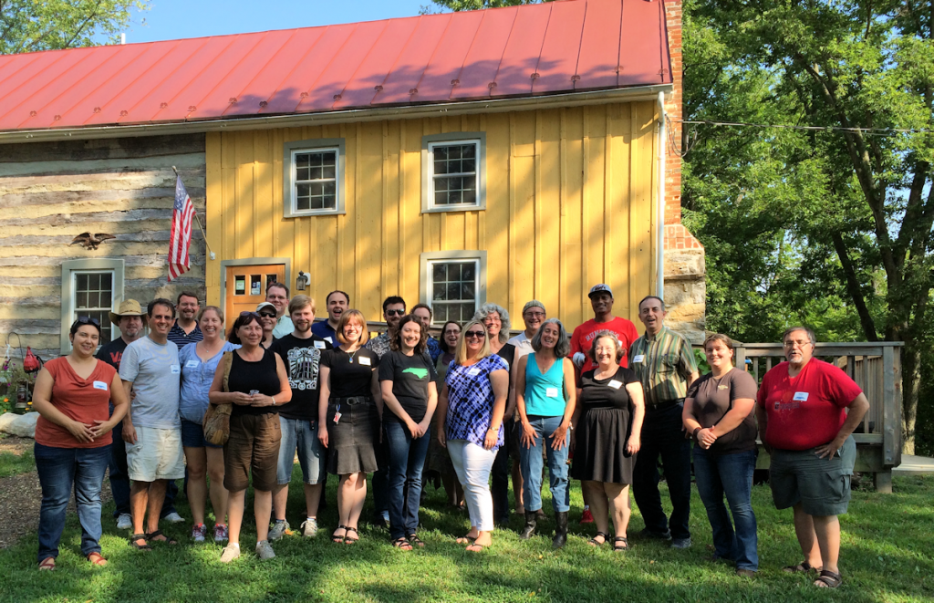 STC WDCB at the Bloomery Plantation Distillery 2014
