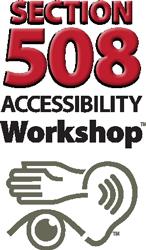 Section 508 workshop logo