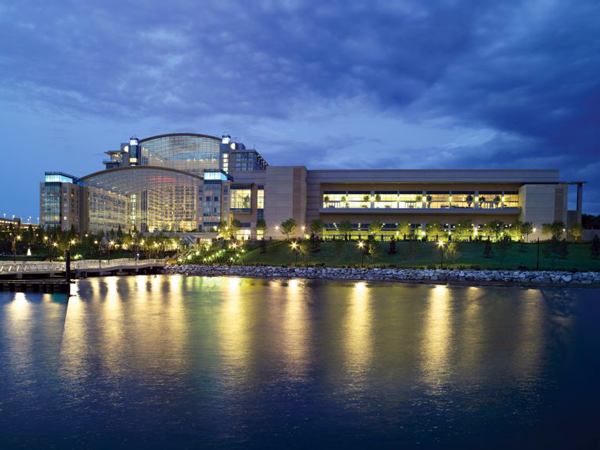 River view photo of the Gaylord National Resort and Convention Center
