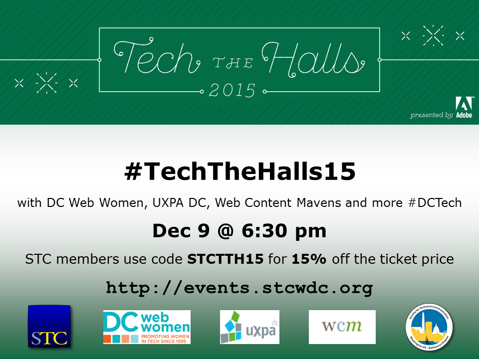 Tech The Halls 2015 STCTTH15 900x720