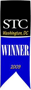 Competitions winner ribbon for 2009
