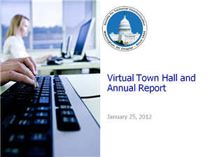 STC WDCB Virtual Town Hall 2012 slides