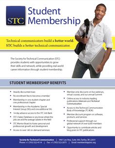 STC 2015 Student Membership Flyer