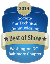 2014 Competition Best of Show badge
