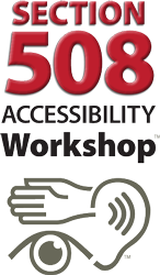 Section 508 workshop logo