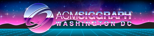 Graphic for th ACM SIGGRAP 80s-Style banner