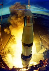 Photo of Apollo 14 liftoff