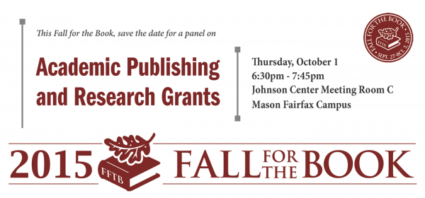 Fall for the Book Save the Date banner