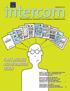 Image of February 2015 cover of Intercom