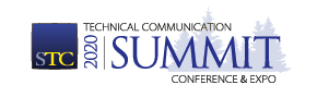 Graphic logo for the STC 2020 Summit 301x100