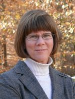 Portrait of professor Susan Lawrence, Director of George Mason University's Writing Center