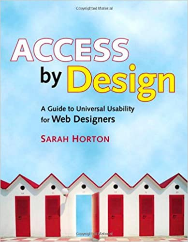Book cover for Access by Design by Sarah Horton