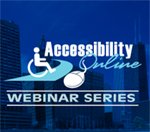 Logo for the Accessibility Online Web Series