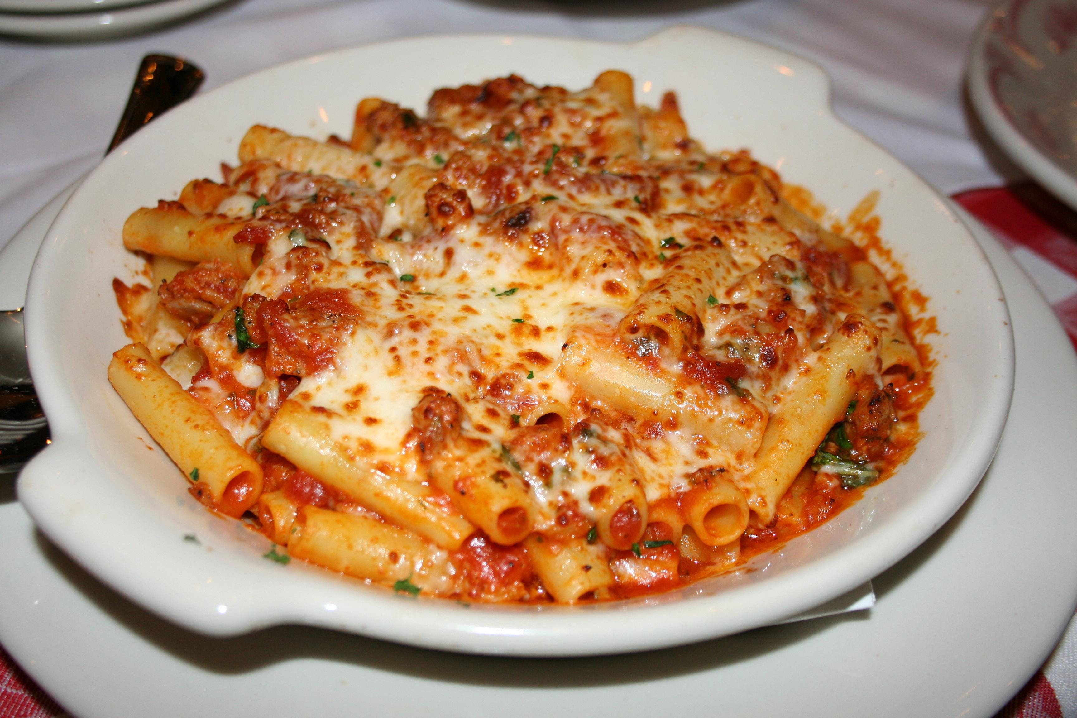 Photo of Maggiano's pasta lunch