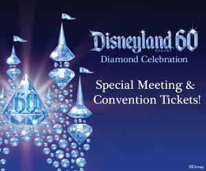 Grapic for Disneyland convention tickets at a discount