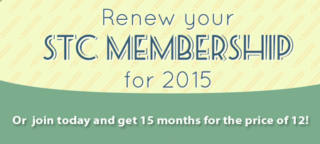 Renew STC membership now