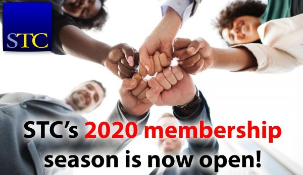 Photo graphic for the STC 2020 membership season banner