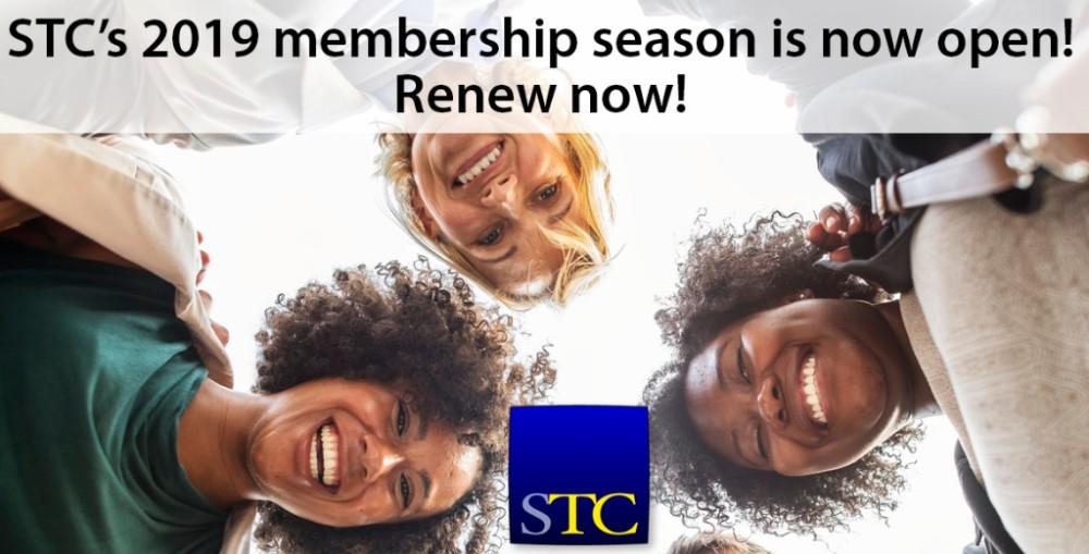 Banner image for STC membership season.