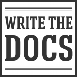 Logo for Meetup group: Write the Docs